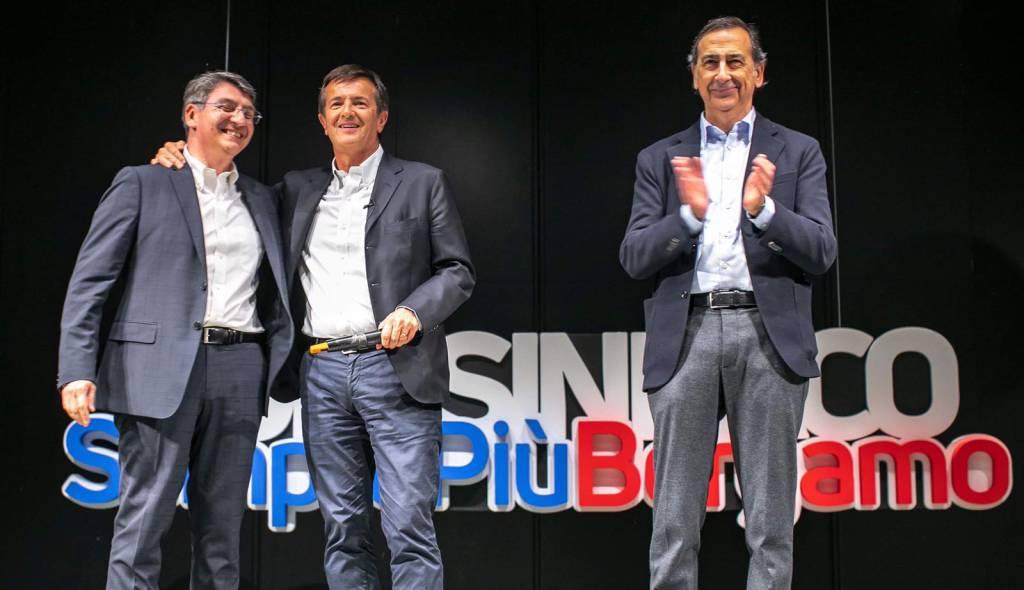 presentazione della coalizione di Giorgio Gori