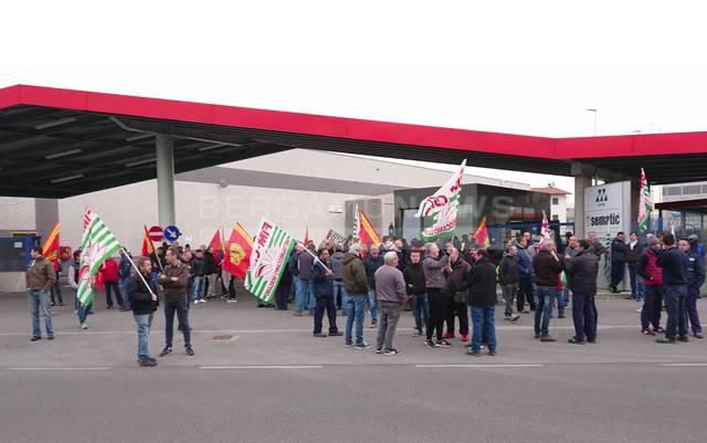 sciopero alla sematic