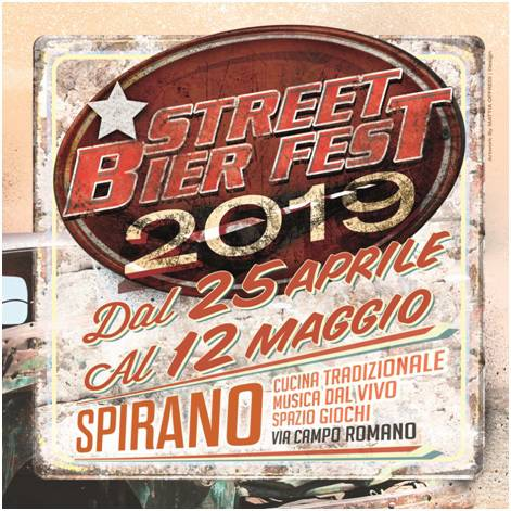 """Street Bier Fest"" a Spirano, tra gli ospiti Andy dei Bluevertigo e i Folkstone"