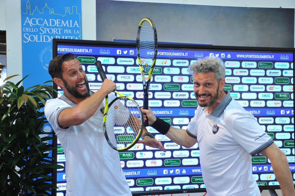 Cristiano Doni al Tennis 2019