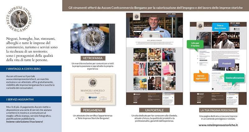 È online il nuovo portale dedicato alle imprese storiche bergamasche