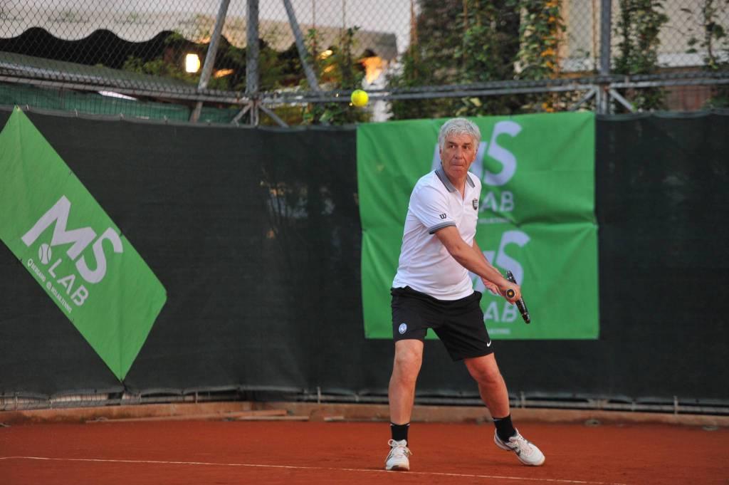 gasperini al tennis
