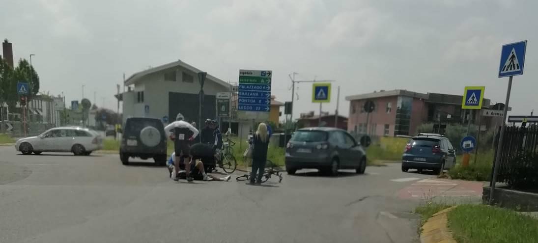 incidente bici almenno