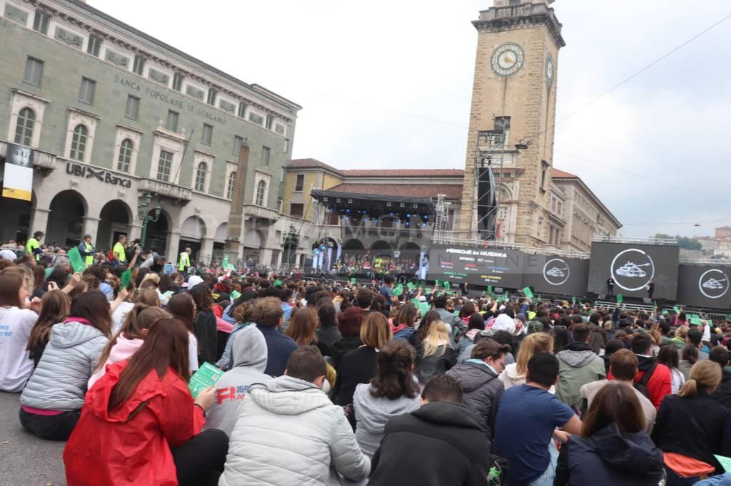 La marcia dei Giovani della pace