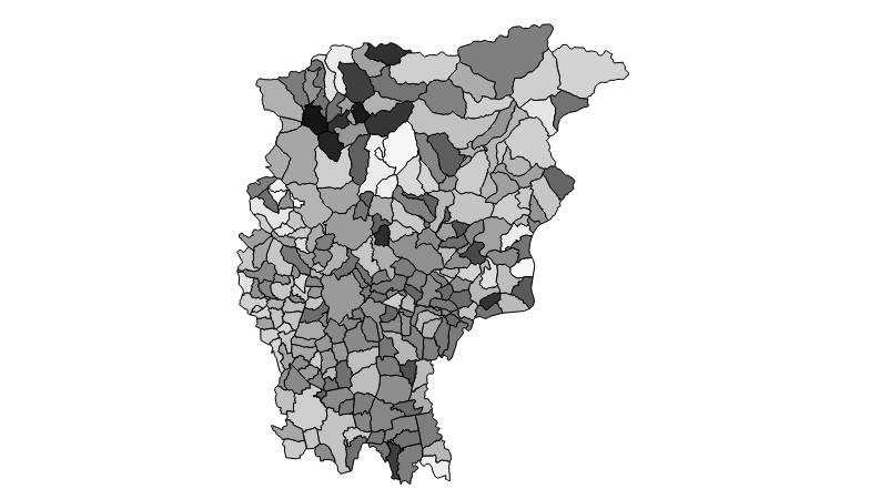 mappa europee