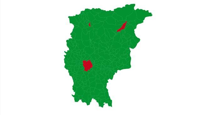 mappa voto europee