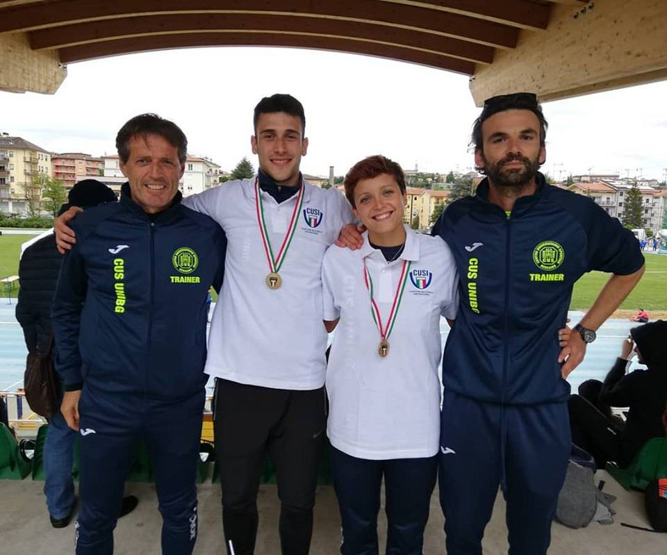 Mattia Montini e SIlvia Taini - Campionati Italiani Universitari 2019