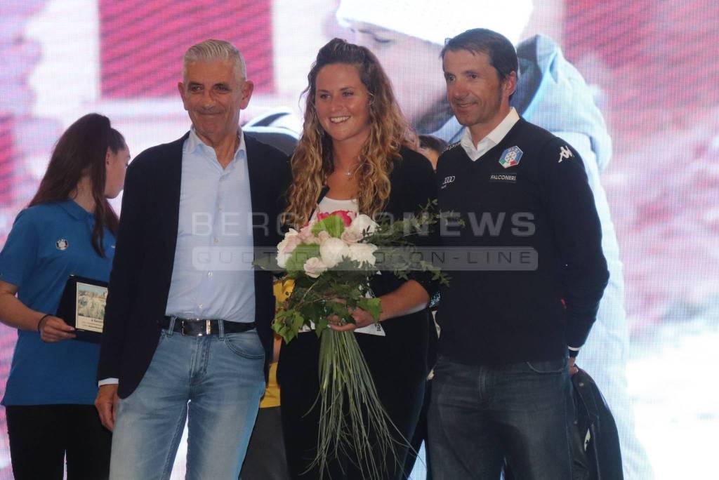 Michela Moioli - Serata degli atleti Fisi Bergamo 2019