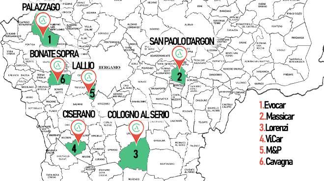 Nuova mappa Cassani
