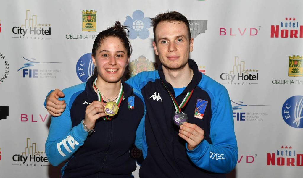 Roberta Marzani - Campionati Europei Under 23 Scherma
