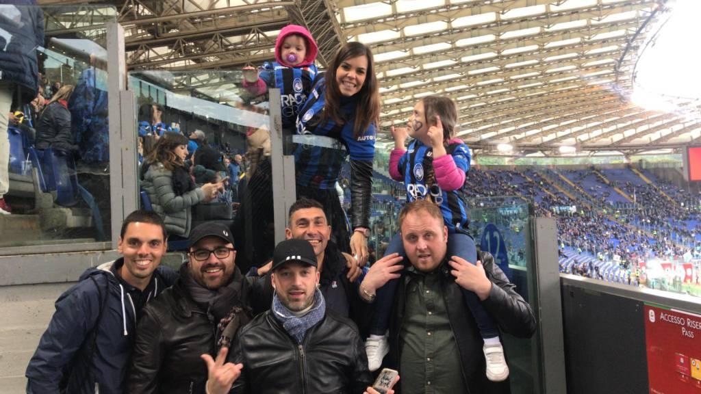 Sabai Thai a Roma con Masiello per la finalissima di Coppa Italia dell'Atalanta