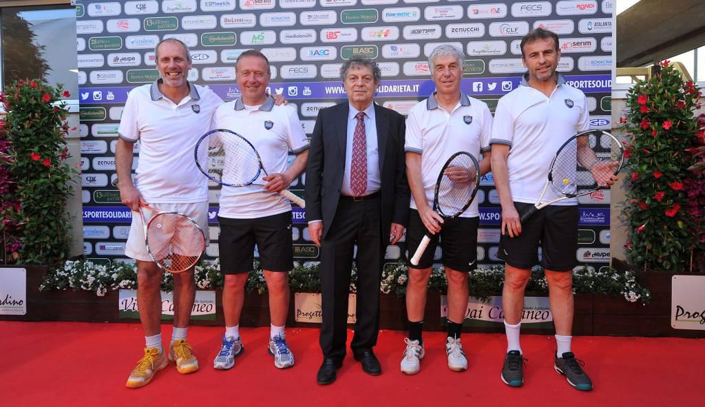 Tennis 2019, tra gli ospiti Luca Percassi e Gasperini