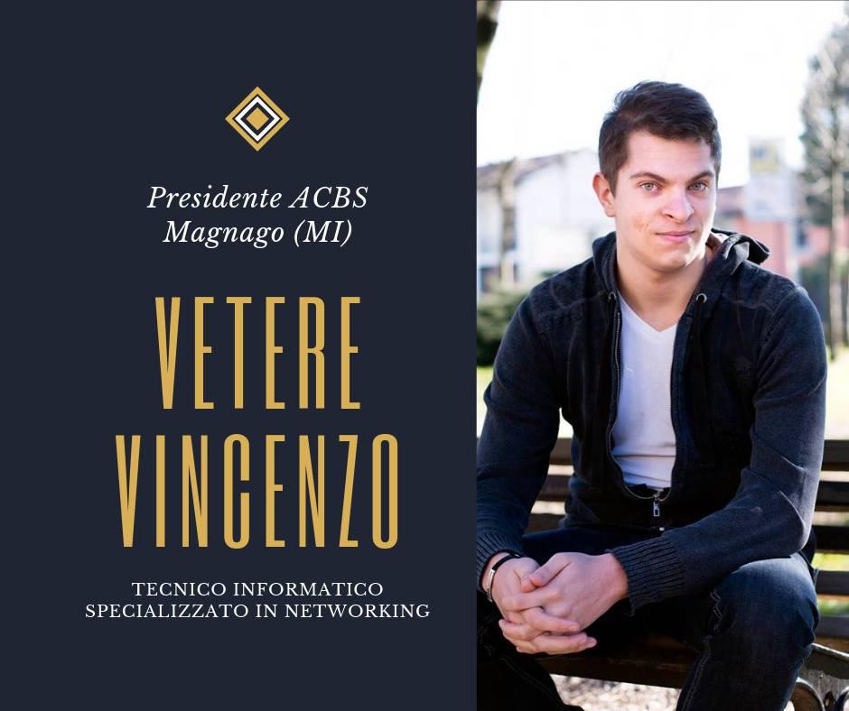 Vincenzo Vetere - Associazione contro il bullismo