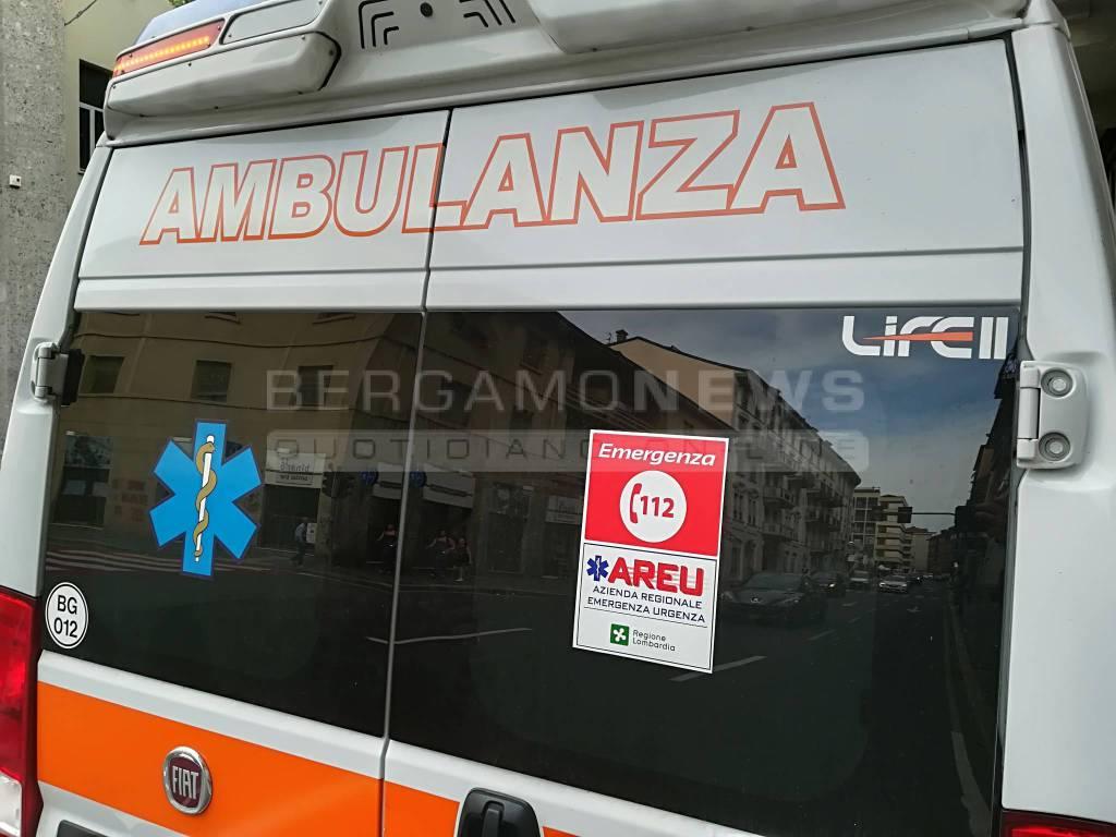 Ambulanza Bergamo nostra