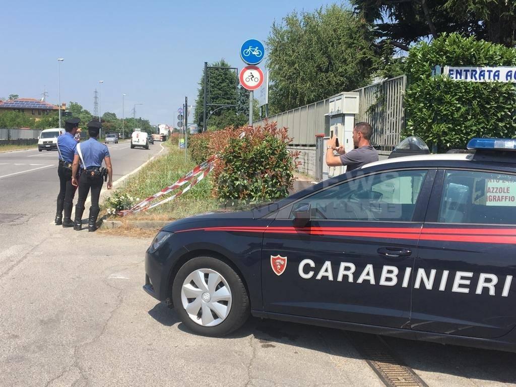 Appuntato Emanuele Anzini, Investito al posto di blocco a Terno d'Isola