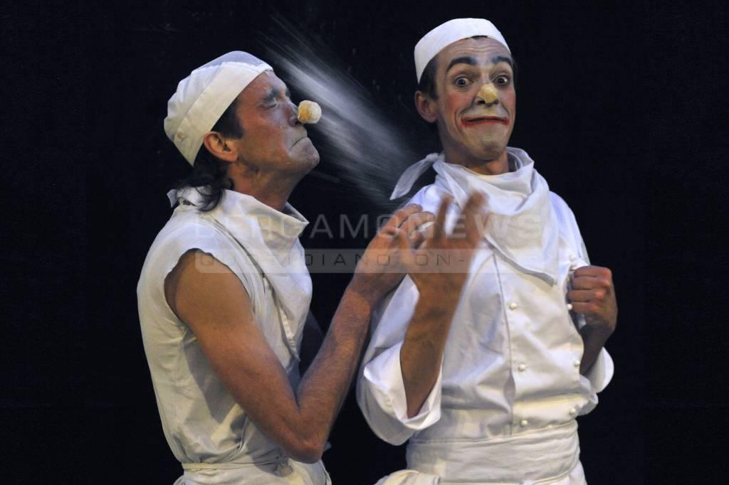 Clown panettieri a Brignano
