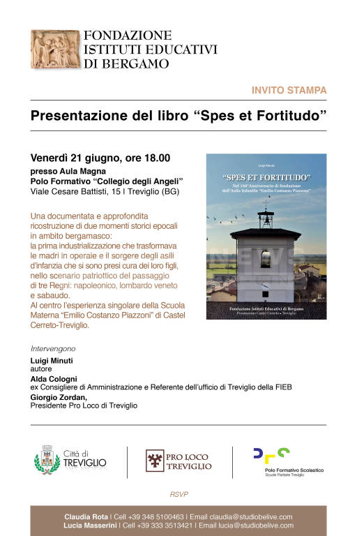 """Presentazione del libro \""""Spes et Fortitudo\"""""""