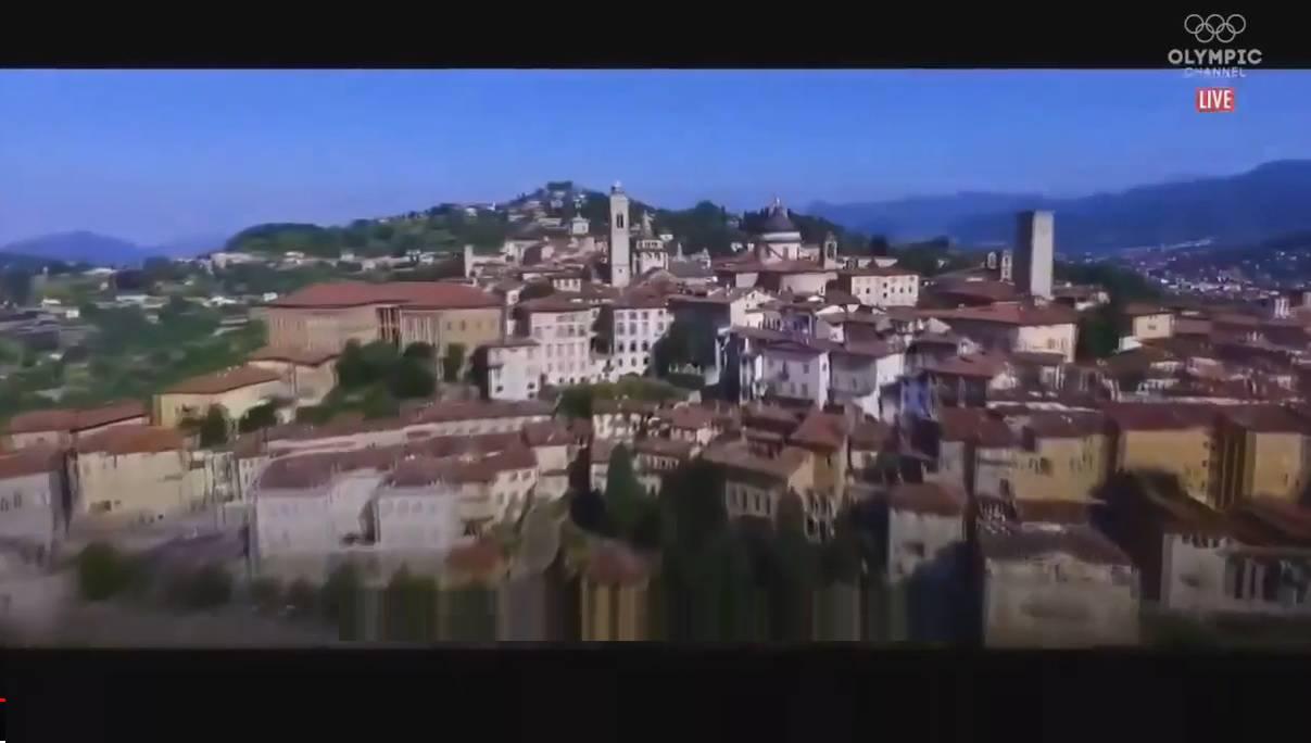 città alta video olimpico