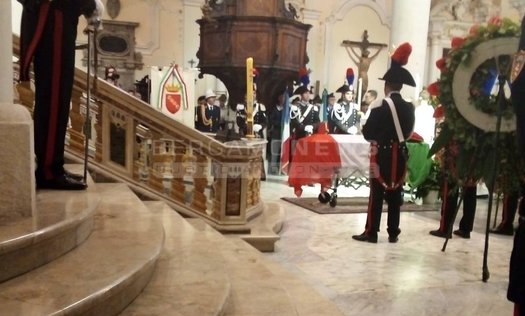 Funerale dell'appuntato