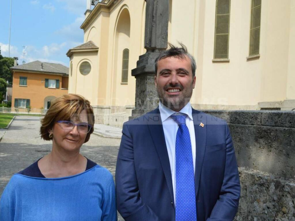 Lorella Alessio e Francesco Bramani