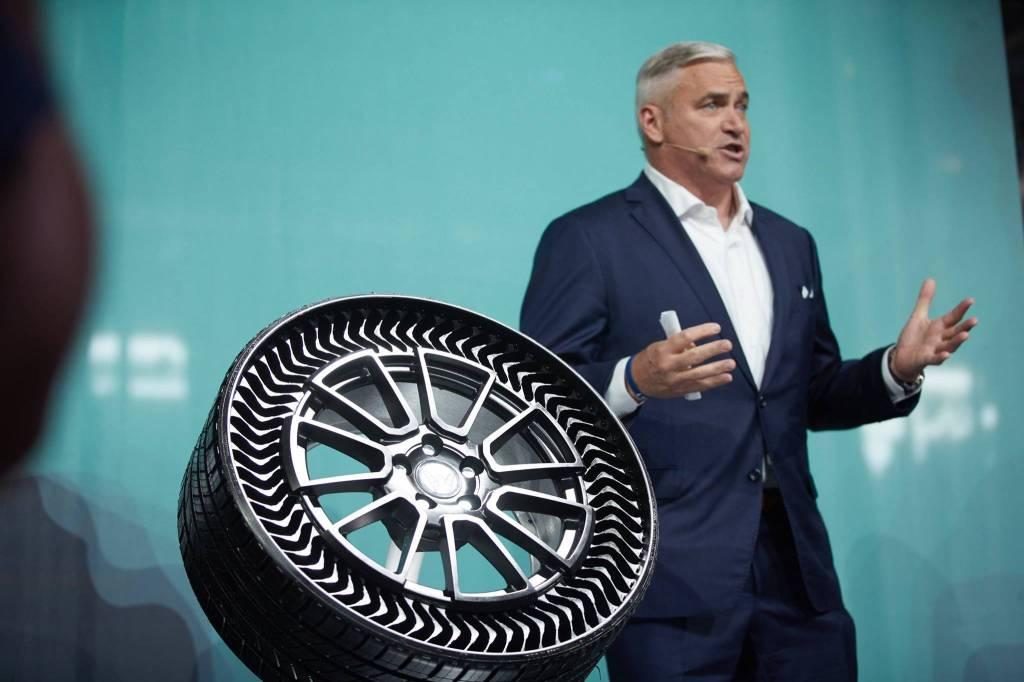 Da Michelin arriva lo pneumatico che non si buca mai