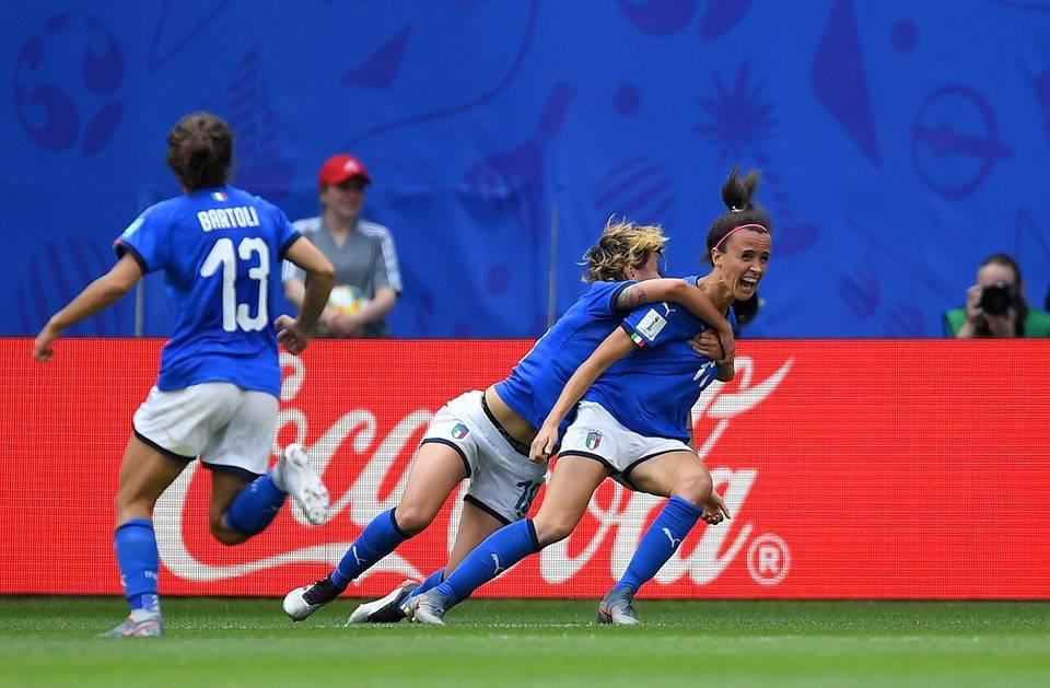 Italia - Mondiali di calcio femminile 2019