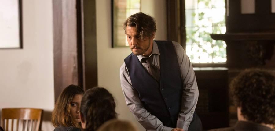 """Johnny Depp al cinema con """"Arrivederci professore"""""""