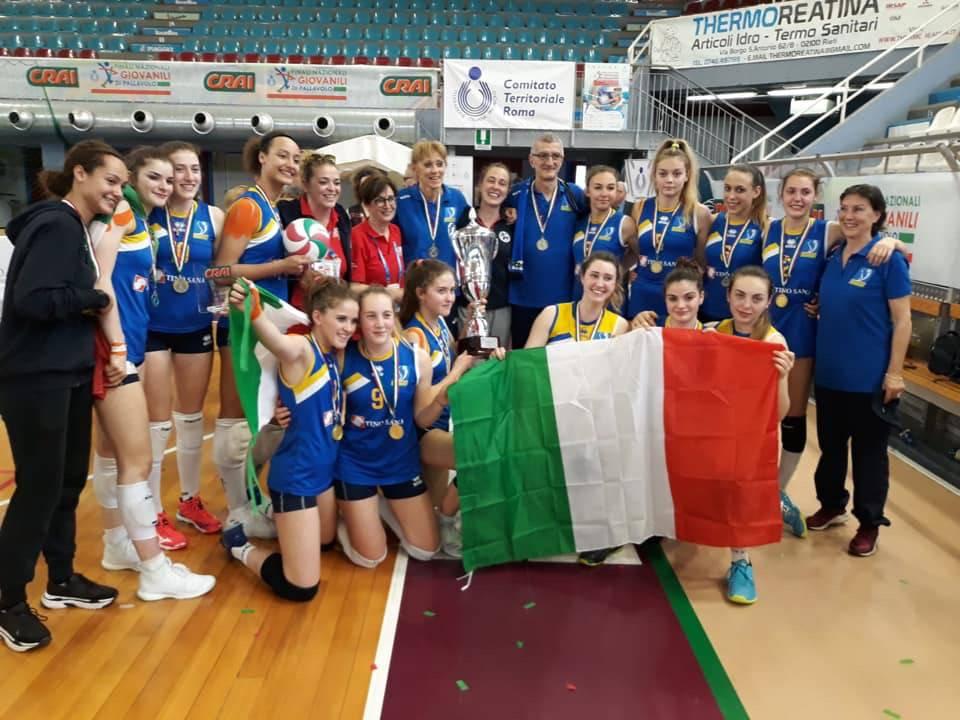 Lemen Volley Campione d'Italia Under 16 2019