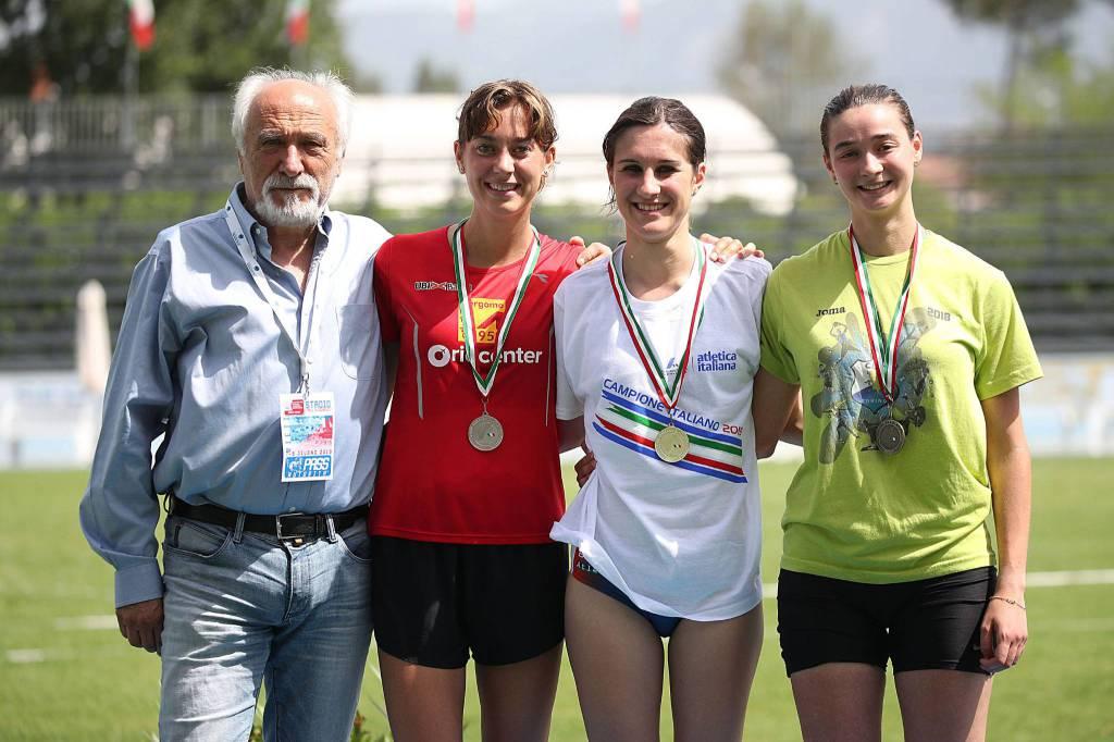 Lidia Barcella e Beatrice Foresti - Campionati Italiani Juniores e Promesse 2019