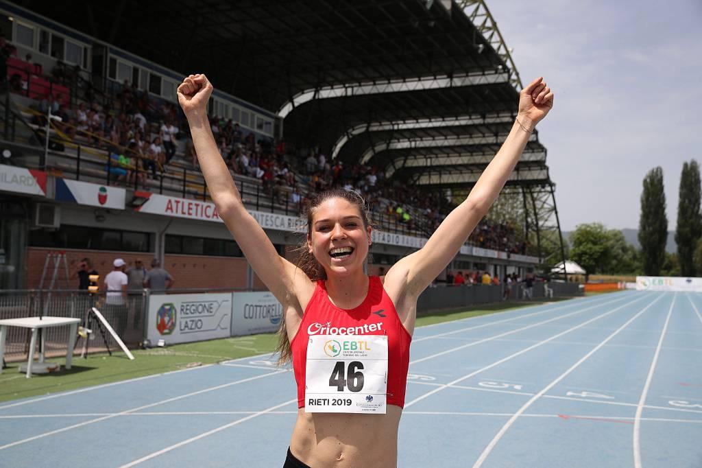 Marta Zenoni - Campionati italiani Juniores e Promesse 2019