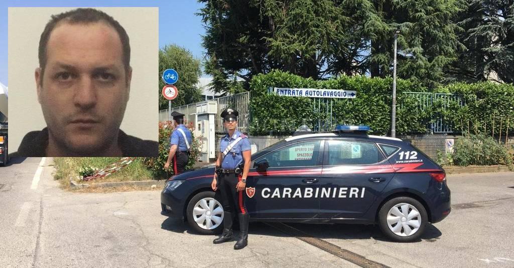 Matteo Manzi Colombo carabinieri investito