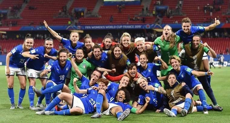 Nazionale Italiana - Mondiali Calcio Femminile 2019