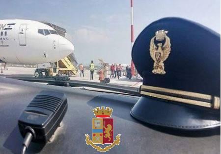 polizia frontiera aerea