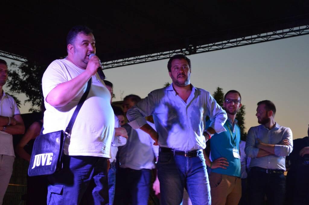 Salvini a Treviglio