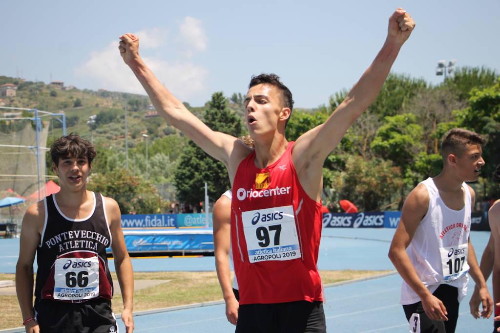 Samuele Maffezzoni - Campionati Italiani Allievi 2019