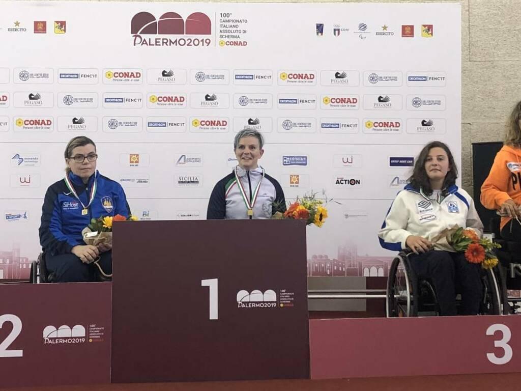 Scherma Bergamo: Della Vedova è campionessa italiana paralimpica