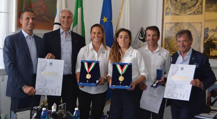 Sofia Goggia e Michela Moioli - Collari d'Oro