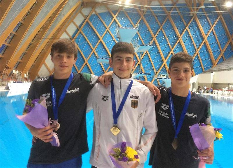 Stefano Belotti - Europei Juniores di tuffi 2019