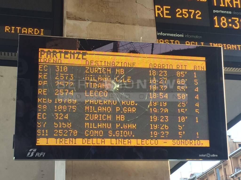 Treno ritardo