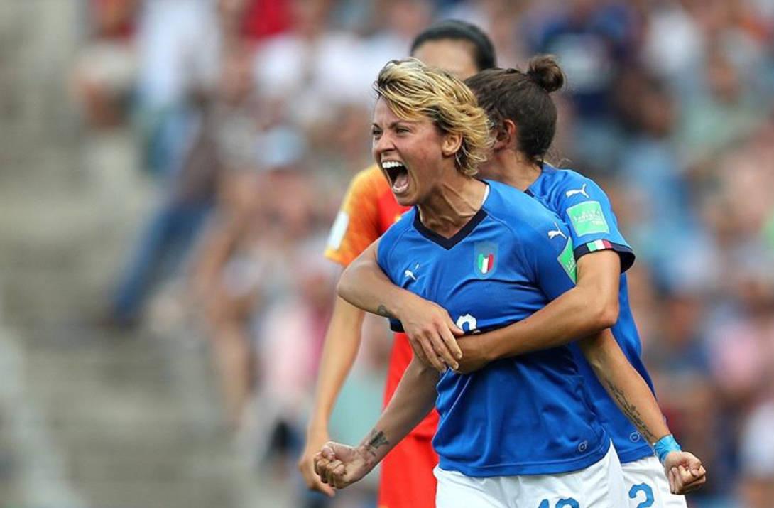 Valentina Giacinti - Mondiali Calcio Femminile 2019