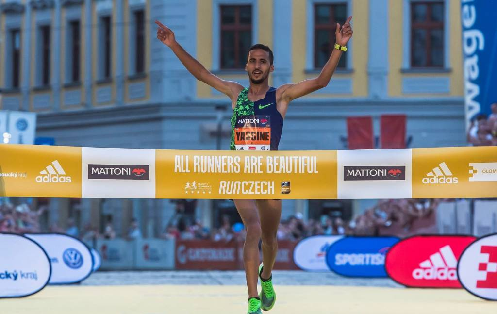 Yassine Rachik -Mattoni Olomouc Half Marathon 2019