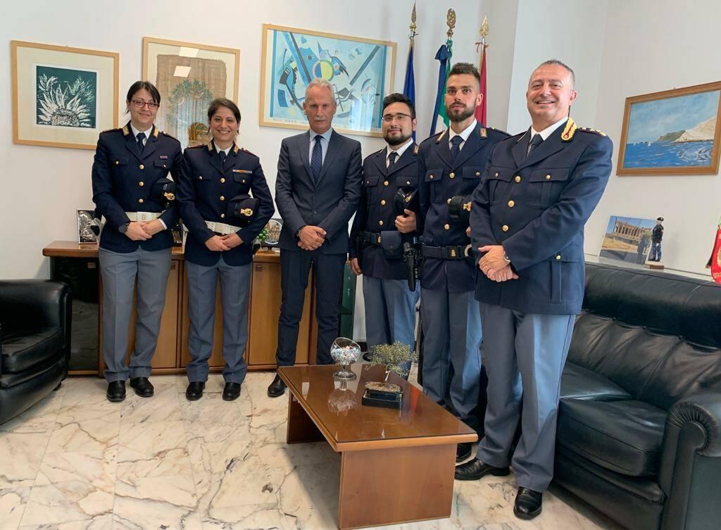 5 nuovi poliziotti