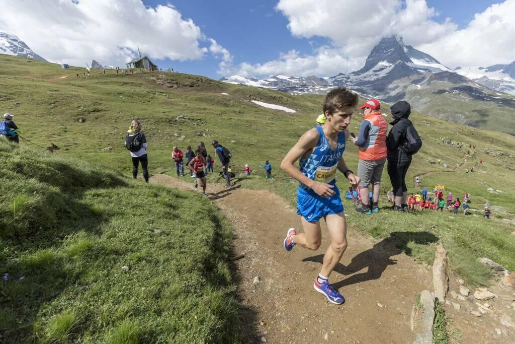 Alain Cavagna - Campionati Europei di corsa in montagna 2019
