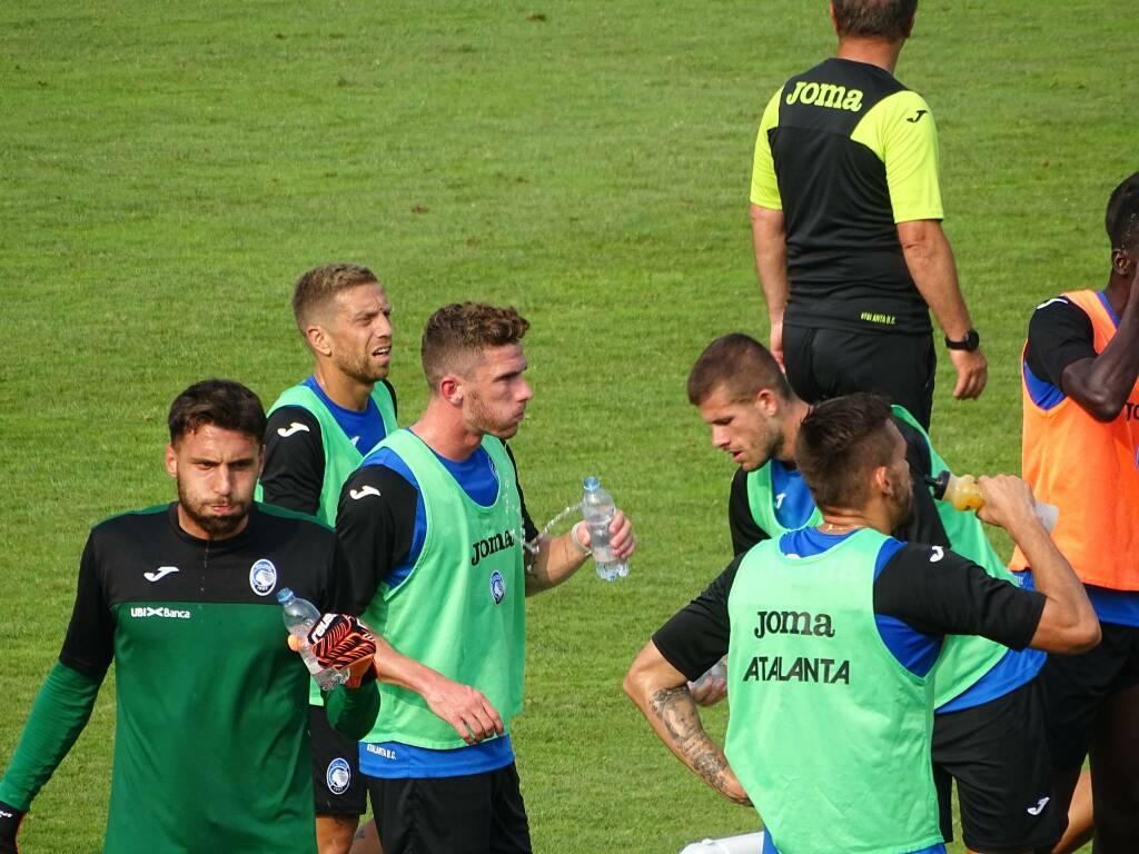 Atalanta ultimo allenamento a Clusone 2019