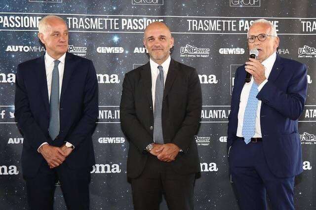 """Automha e l'Atalanta ancora insieme: l'azienda """"sponsor di manica"""" della Dea"""