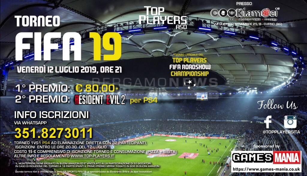 Torneo di Fifa19 per PS4