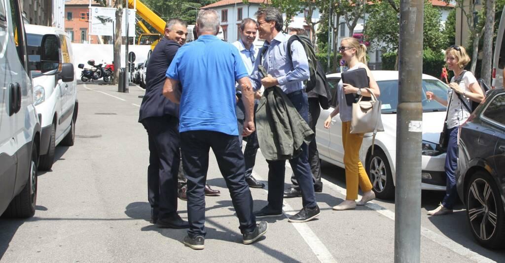 Commissari Uefa a Bergamo