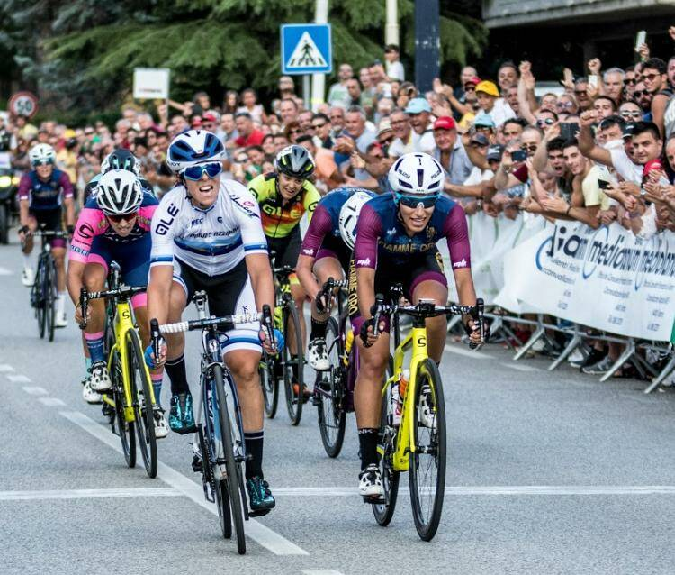 Elisa Balsamo e Ilaria Sanguineti - Campionati Italiani su strada 2019