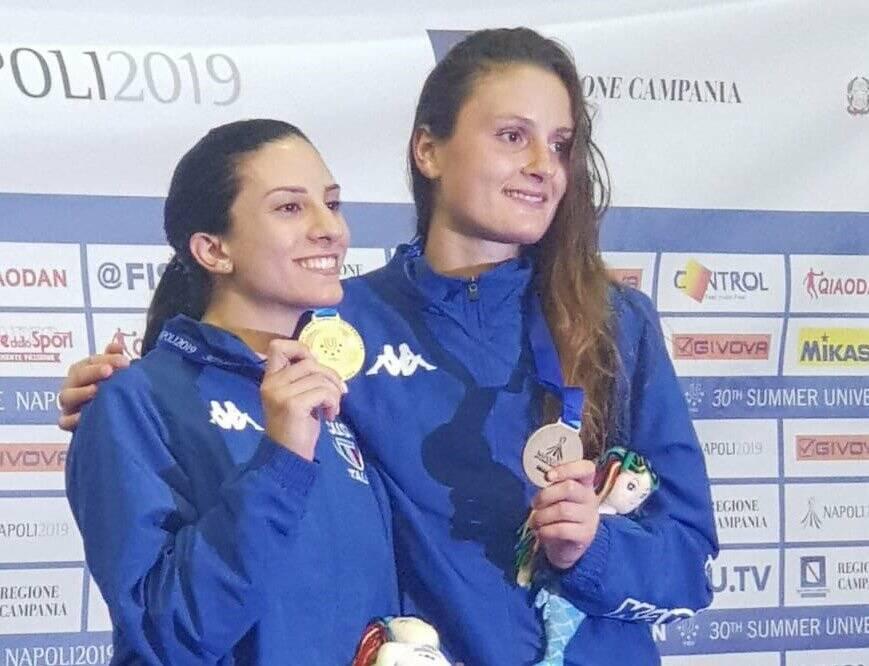 Erica Cipriani e Camilla Mancini - Universiadi 2019