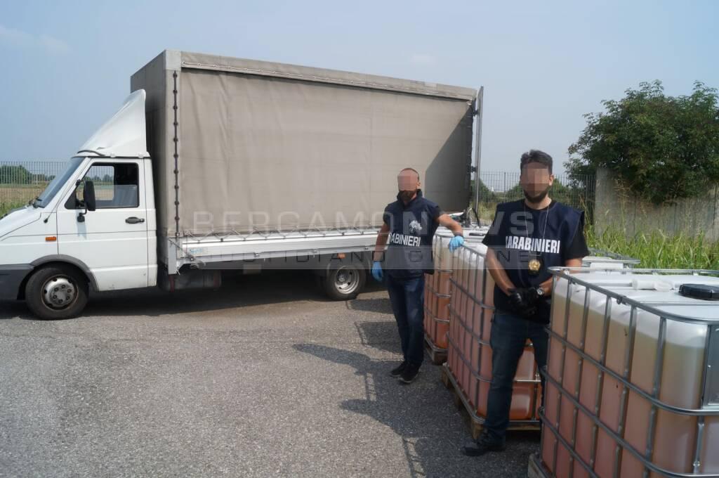 furgone rubato caravaggio
